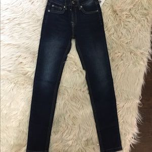 NWT 7 for all Mankind girls skinny jeans 8